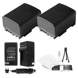 BP-808/809 Battery 2-Pack Bundle with Rapid Travel Charger a