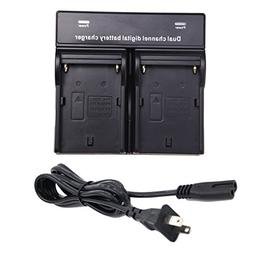 Brand New Double Twin AC Battery Charger for SONY NPF330 NP-