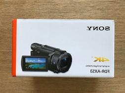 BRAND NEW | SONY FDR-AX53 16.6MP 4K Ultra HD Handycam Camcor