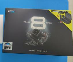 Brand New GoPro HERO8 Black Action Camera Bundle 2 Batteries