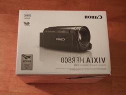 BRAND NEW Canon VIXIA HF R800 Camcorder - Black Full HD