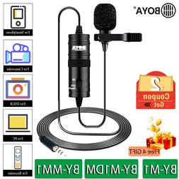 BOYA BY-M1 BY-M1DM BY-MM1 BY M1 Lavalier <font><b>Microphone