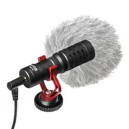 BOYA BY-MM1 Microphone Video for iPhone Samsung Canon Nikon