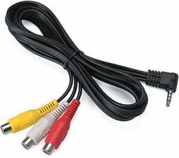 Kenwood CA-C3AV AV Cable for Video AV Input