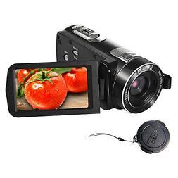 SEREE Camcorder FHD 1080P 24.0 MP Digital Camera HDMI Cable