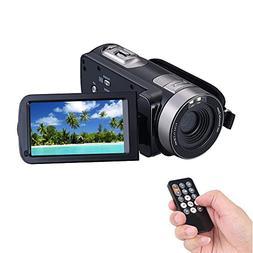 COMI Camcorder Full HD 1920x1080p 24.0 Megapixels Camera 3.0