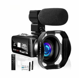 Camcorder 4K 48MP 16X WiFi Control Digital Camera 3.0 Touch