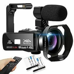 Camcorder 4K HD 48MP Video Camera 18X Digital Zoom IR Night