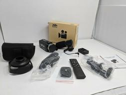 Camcorder 4K HD 48MP Video Camera for YouTube 30X Digital Zo