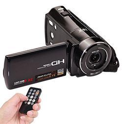 Video Camcorder, FociPow HDV-V7 Portable 24 MP 1080P HD Came