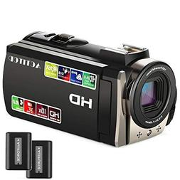 Video Camcorder,ACTITOP FHD 1080P Camcorder 24MP 16x Digital