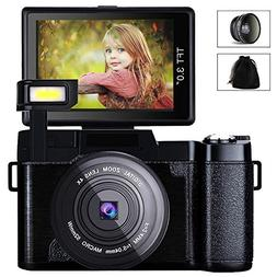 Digital Camera Camcorder, Weton FHD 1080P Video Camera 24.0M