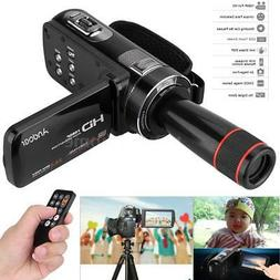 """Andoer HD 1080P 24MP 16X ZOOM 3"""" Touch Screen Digital Video"""