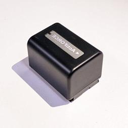 SEREE Camcorder Battery 3.7V 2500mAh Rechargeable External L