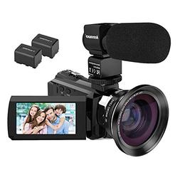 Video Camera, Kenuo 4K Camcorder 48MP 4K Video Camera Ultra