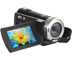 Digital Camcorder, Besteker 720P HD Video Camcorder 16X Zoom