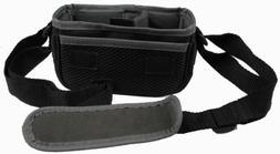 JVC Camcorder Camera Bag Padded Pouch Soft Case Black w/Shou