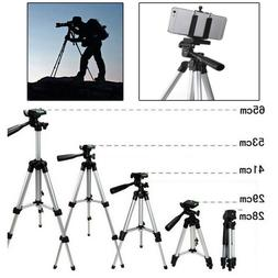 Camcorder Camera Tripod Stand + Phone Holder for Samsung iPh