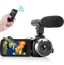 Camcorder Digital Video Camera, FHD 1080P 30 fps 30.0 MP Cam