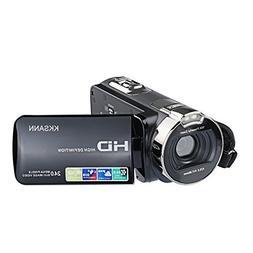 Camera Camcorders, KKSANN 24MP 16X Digital Zoom Video Camcor