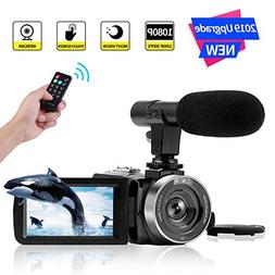 Camcorder Digital Video Camera FHD 1080P 30 FPS Vlogging Cam