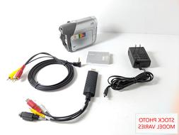 Canon Camcorder for 8mm Hi8 MiniDV Tape Transfer to Computer