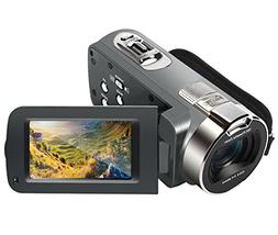 Camera Camcorder, Besteker HD 1080P 24MP 16X Digital Zoom Vi