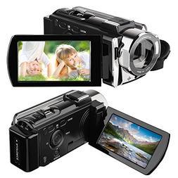 Camcorder, HAMSWAN HD Video Camera Full HD Digital Camorder