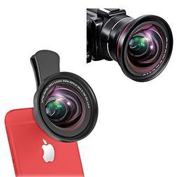 iPhone Camera Lens, 0.39X Super Wide Angle Lens & 12X Macro