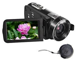 SEREE Camcorder Full HD 1080P 24.0 MP Digital Camera Portabl