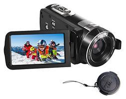 SEREE Camcorder Full HD 1080P 24.0 MP Digital Camera Portabl