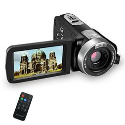 SEREE Camcorder Digital Camera Full HD 1080p Digital Video R