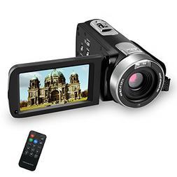 SEREE Camcorder Digital Camera Full HD 1080p Digital Video R