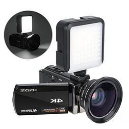 4K Camcorder Digital Video Camera Recorder Vlogging Camera N