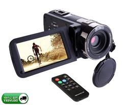 "Camcorder Remote Control Infrared Night Vision with 3.0"" LCD"