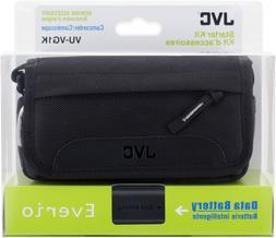 JVC Camcorder Starter Kit , includes Data Battery  + Carryin
