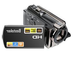 Video Camcorder,Besteker FHD 1080P IR Night Vision Video Cam