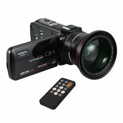 Camcorder, Andoer Video Camera 1080P HD 16X Digital Zoom WiF