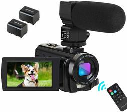 Camcorder Video Camera Digital YouTube Vlogging Camera HD 10