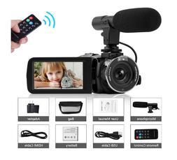 Camcorder Video Camera Full HD 1080P Night Vision Camcorder