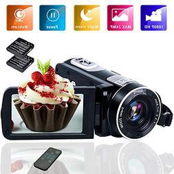 camcorder video camera full hd 1080p vlogging