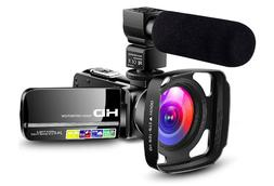 Camcorder Video Camera Ultra HD 1080P Vlogging YouTube Digit