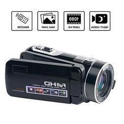 Digital Video Camera Camcorder SEREE Full HD 1080p Vlog Came