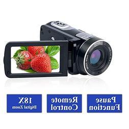 Camcorder Video Camera Full HD 1080p 24.0MP Vlogging Camera