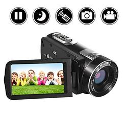 SEREE Video Camera Camcorder Full HD 1080p Digital Camera 24