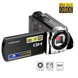 Camera Camcorder HD 1080P 24MP 16X Digital Zoom Video Camera