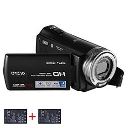 ORDRO HD Camcorder 1080P 30FPS 20MP Infrared Night Vision Di