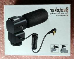 Besteker Camera/Camcorder Microphone