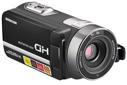 Camera Camcorder, Remote Control Handy Camera, IR Night Visi