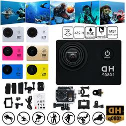 Camera HD 1080P Sport Action Camera DVR Cam DV Video Camcord